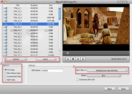 Clone DVD for Mac